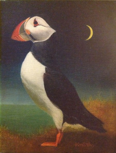 A3-puffins-formal-portrait-by-artist-kimberly-kay-de-vaney