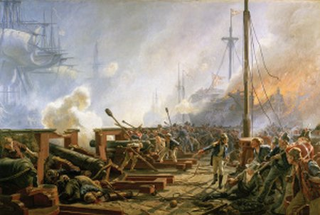the battle of copenhagen 1801 by christian mc3b8lsted