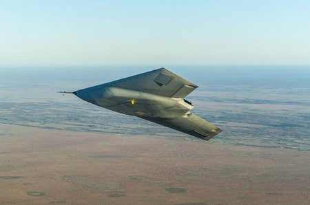 Taranis in flight 1